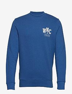 WNC CREW - sweatshirts - federal blue