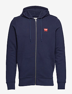 SIGN OFF ZUPTHRU - hoodies - navy