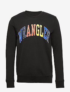 LOGO SWEAT BLACK - BLACK