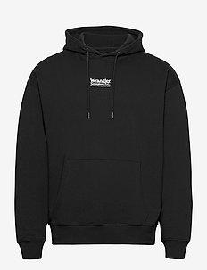 WRANGLER HOODIE - basic sweatshirts - black