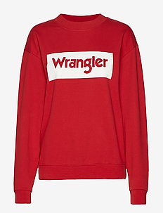 80´S RETRO SWEAT - RED