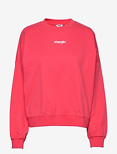 SUMMER WEIGHT SWEAT - swetry - paradise pink