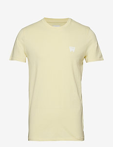 SS SIGN OFF TEE - FRENCH VANILLA