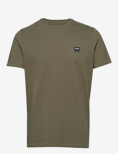 SS SIGN OFF TEE - basic t-shirts - dusty olive