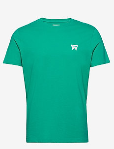 SS SIGN OFF TEE - basic t-shirts - peacock green