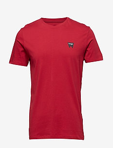 SIGN OFF TEE - SCARLET RED