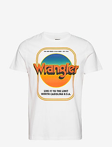 SS GOOD TIMES TEE - kortärmade t-shirts - true white
