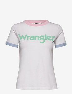RINGER TEE - REAL WHITE