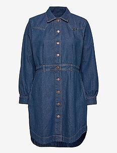 WESTERN DRESS - robes de jour - mid indigo