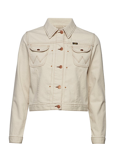 Western Jacket Jeansjacke Denimjacke Creme WRANGLER