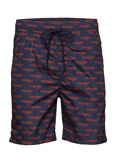 SWIM SHORT - SCARLET RED