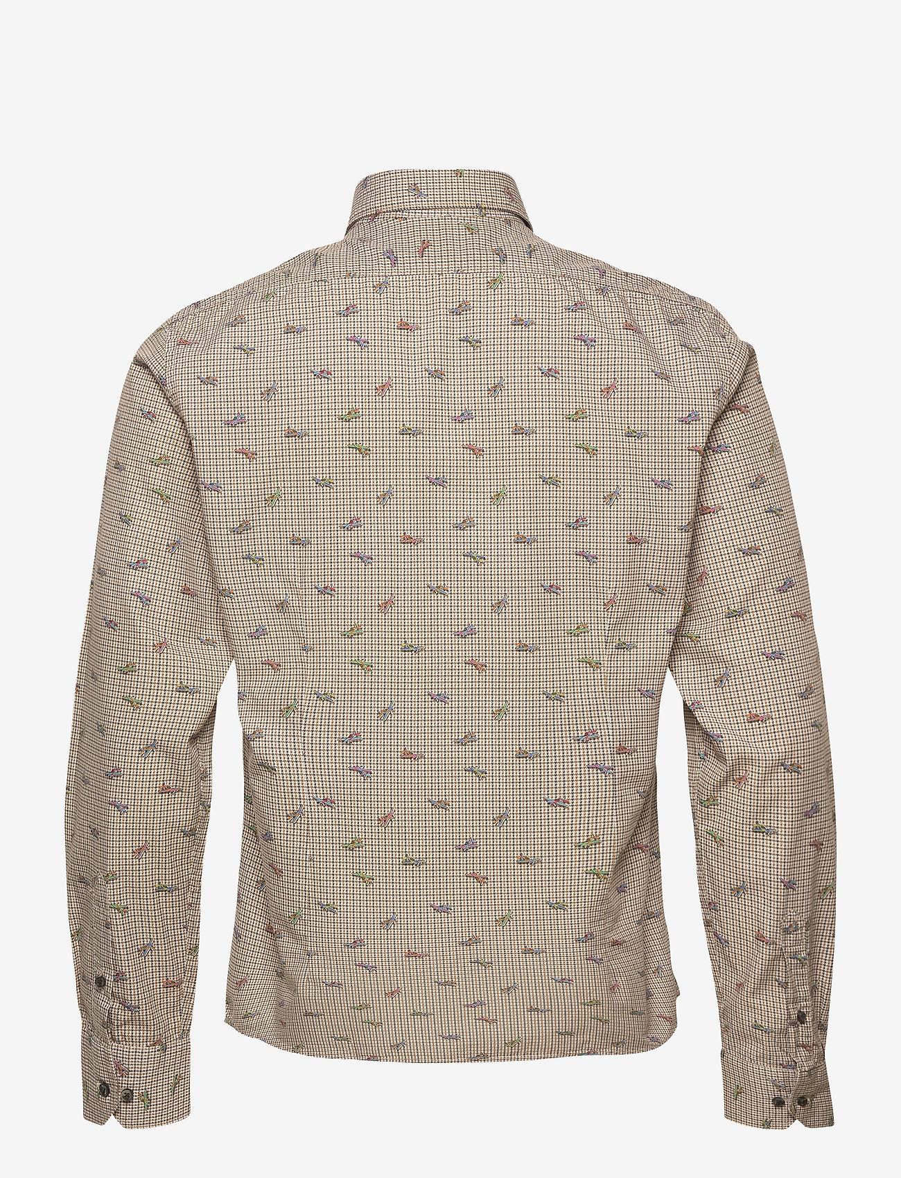 XO Shirtmaker by Sand Copenhagen 8646 - Gordy SC - Skjorter LIGHT CAMEL - Menn Klær