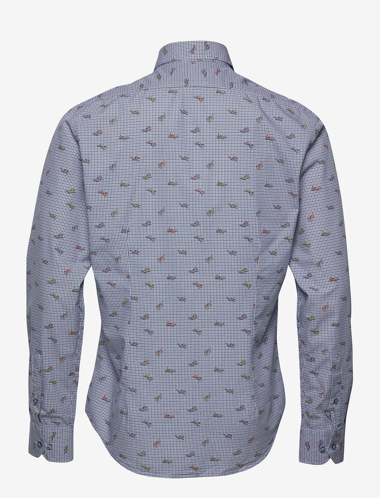 XO Shirtmaker by Sand Copenhagen 8646 - Gordy SC - Skjorter MEDIUM BLUE - Menn Klær