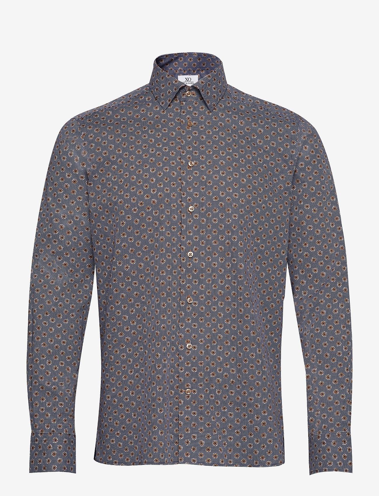 XO Shirtmaker by Sand Copenhagen - 8667 - Gordon SC - business skjortor - dark camel - 0