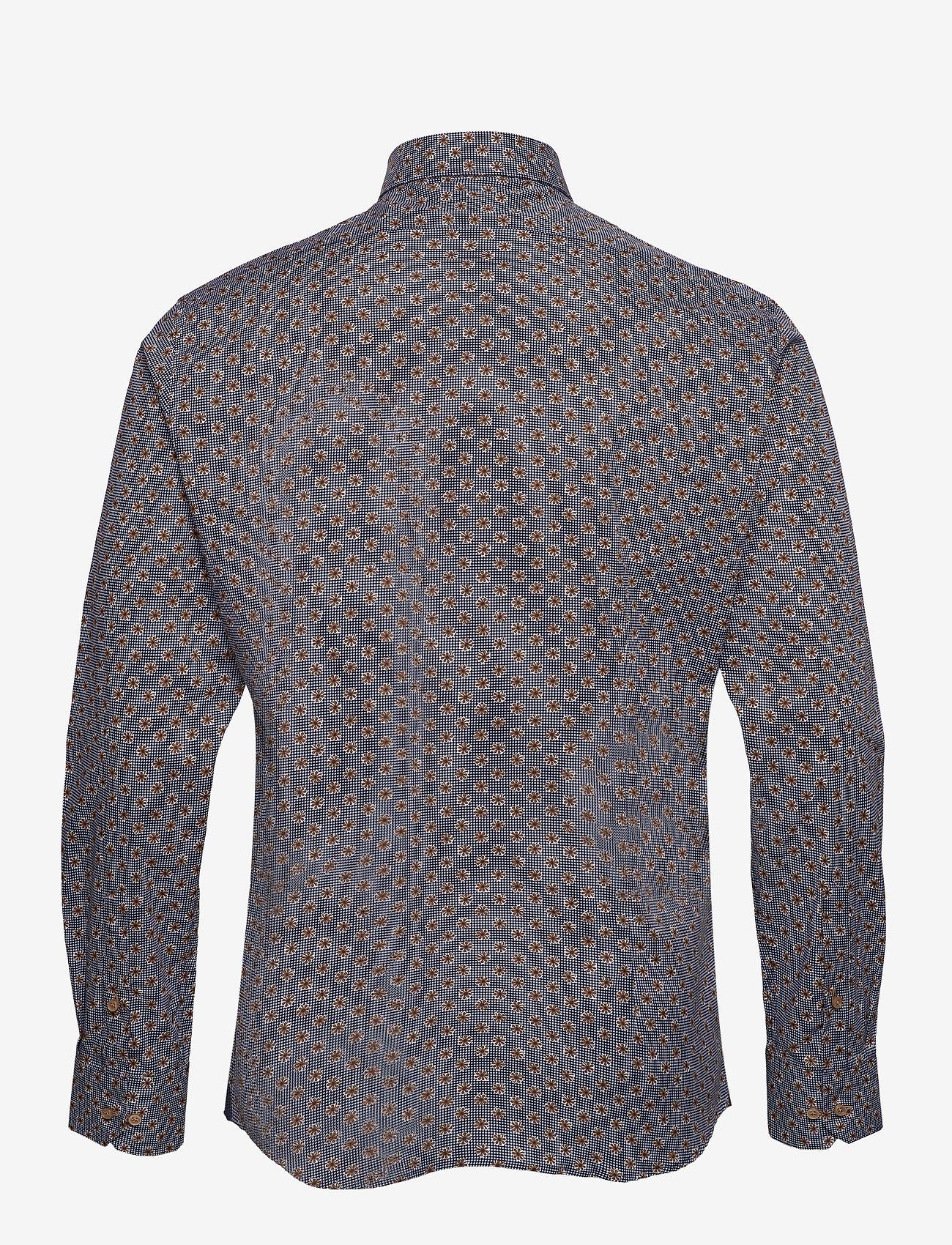XO Shirtmaker by Sand Copenhagen - 8667 - Gordon SC - business skjortor - dark camel - 1