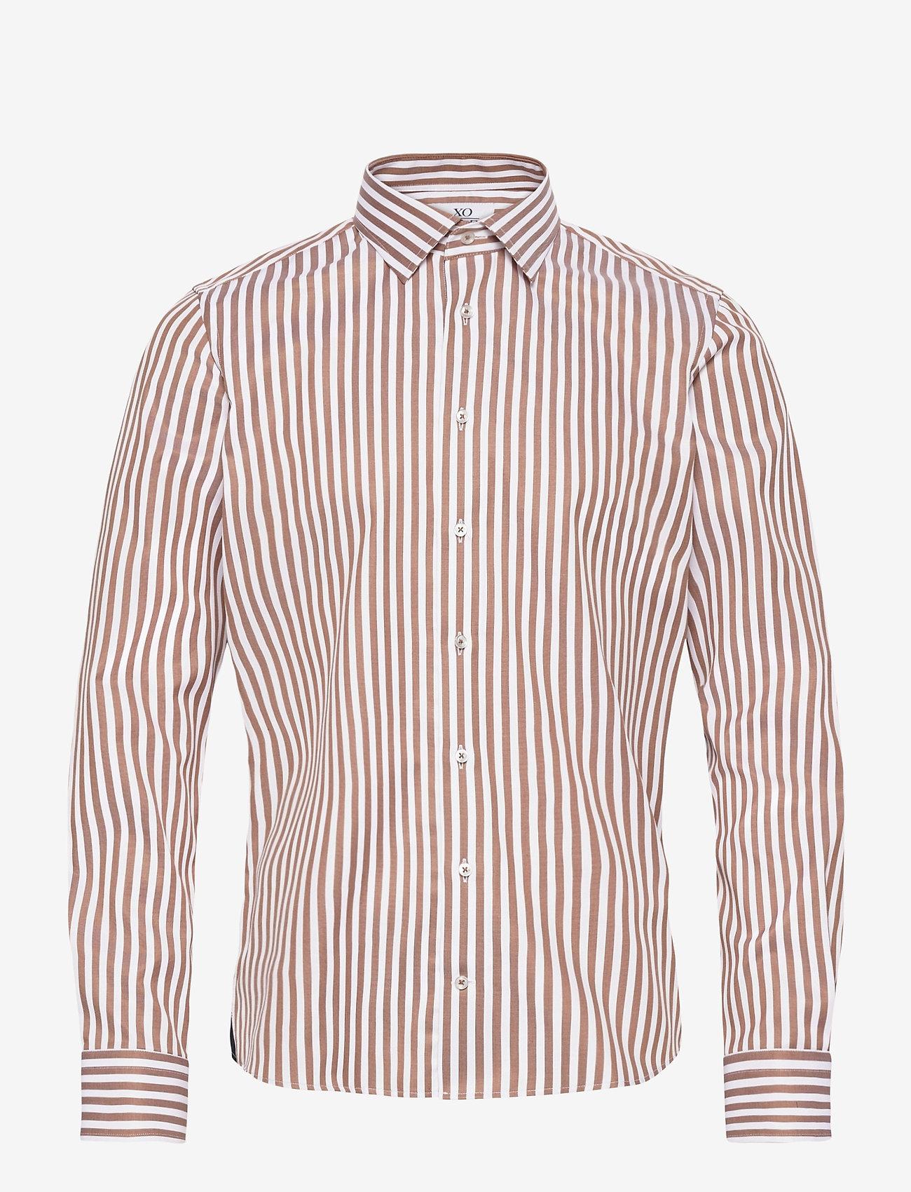 XO Shirtmaker by Sand Copenhagen - 8734 - Jake SC - business skjortor - light camel - 0