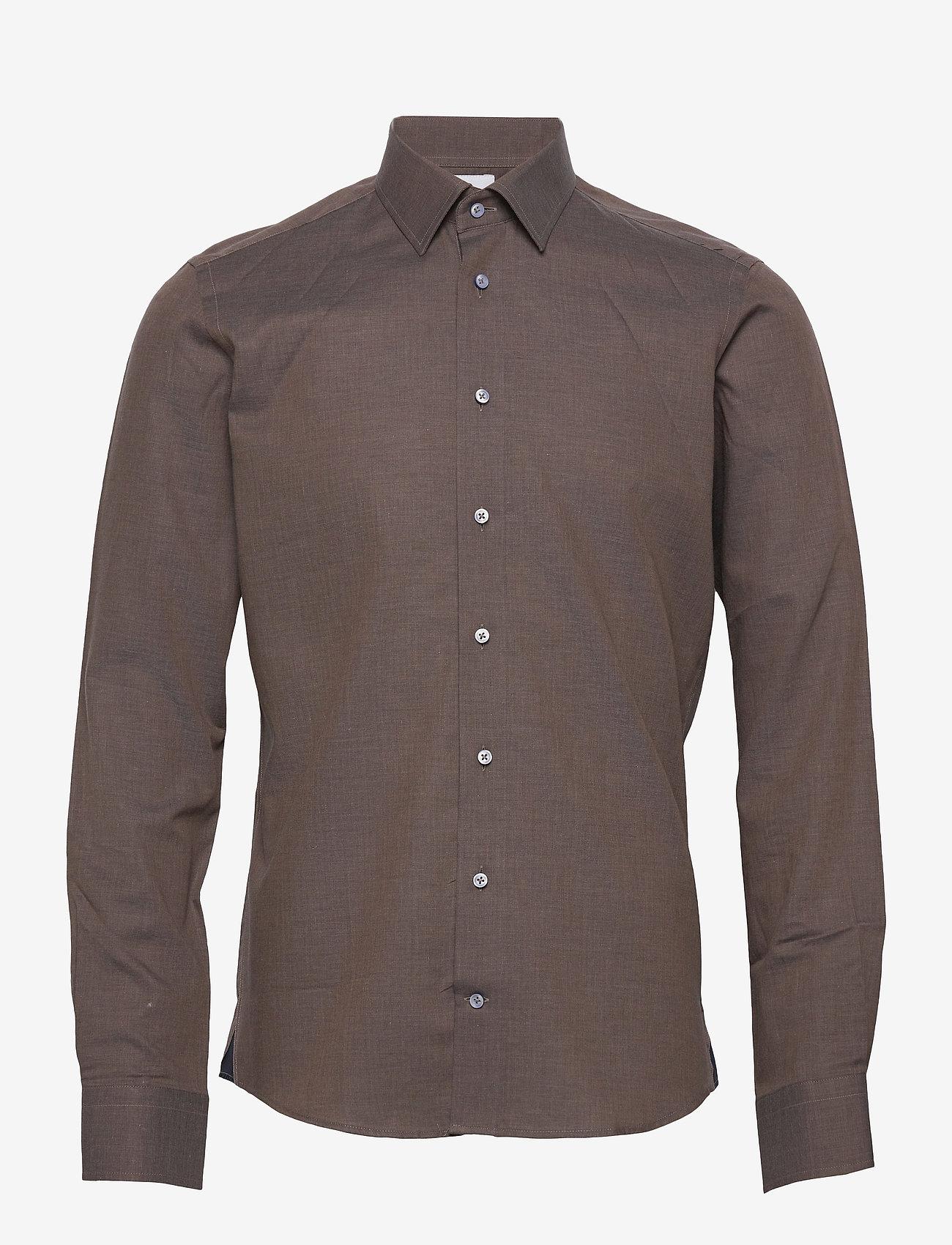 XO Shirtmaker by Sand Copenhagen - 8859 X - Jake SC - basic skjortor - dark brown - 0