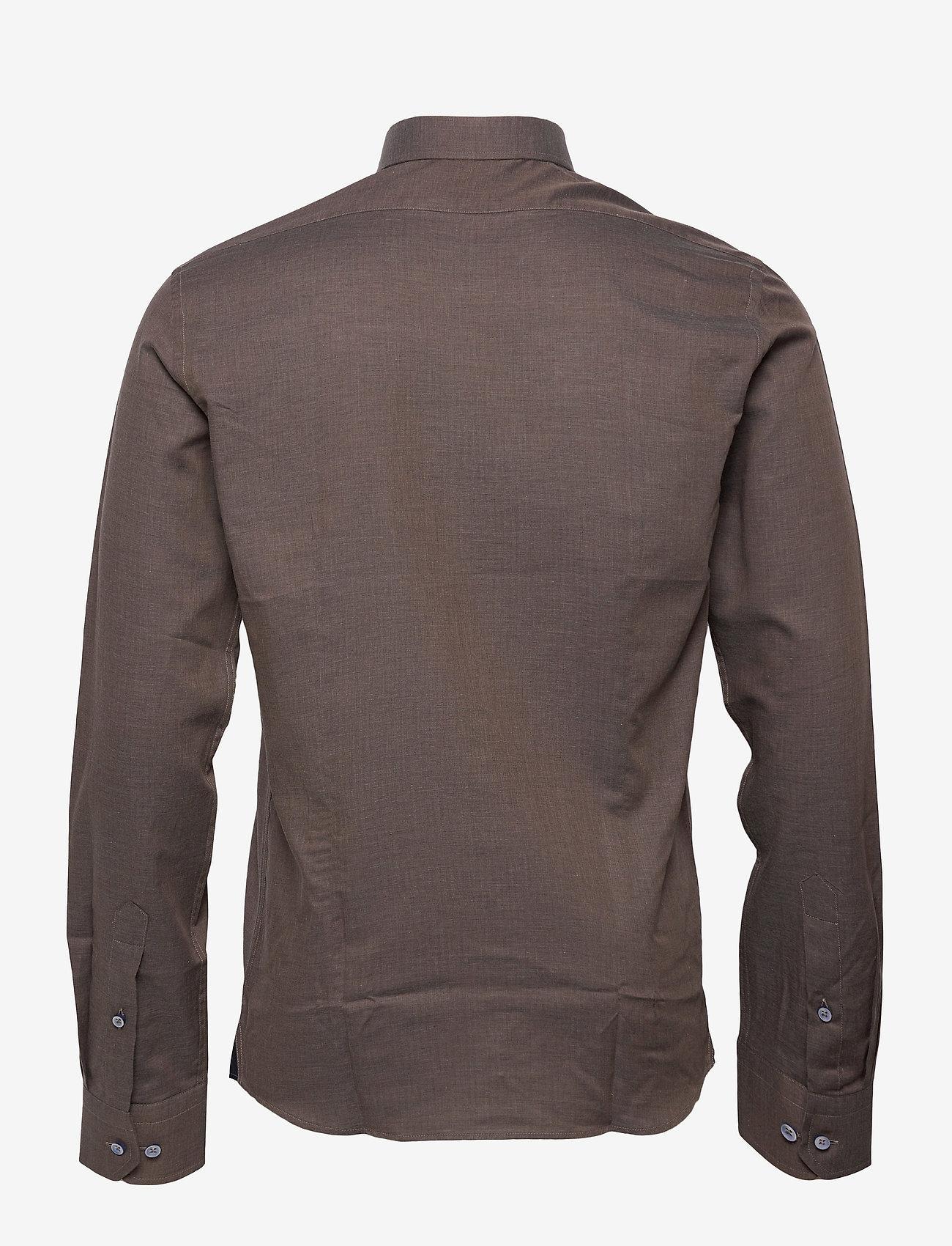 XO Shirtmaker by Sand Copenhagen - 8859 X - Jake SC - basic skjortor - dark brown - 1