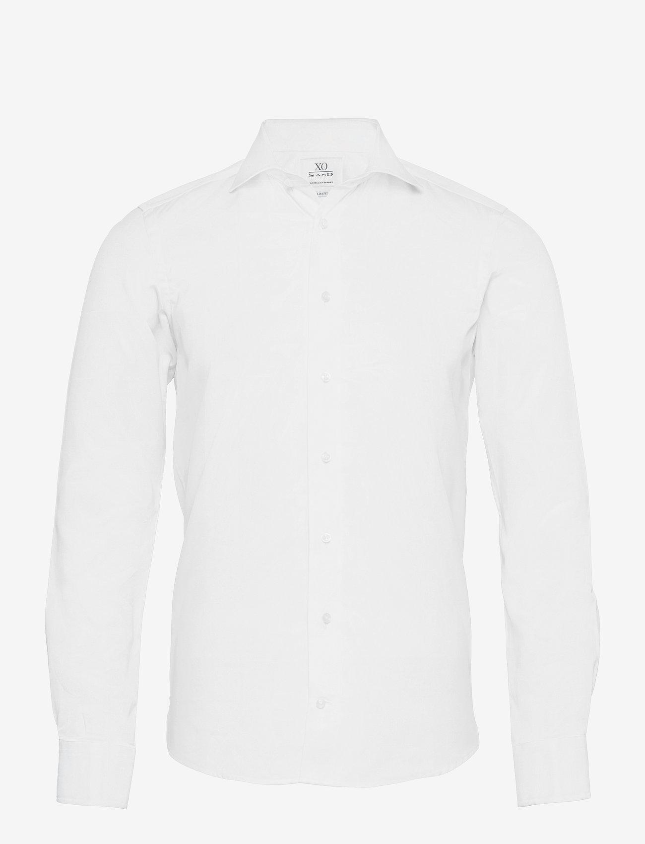 XO Shirtmaker by Sand Copenhagen - 8085 - Jake FC - basic skjortor - optical white - 0