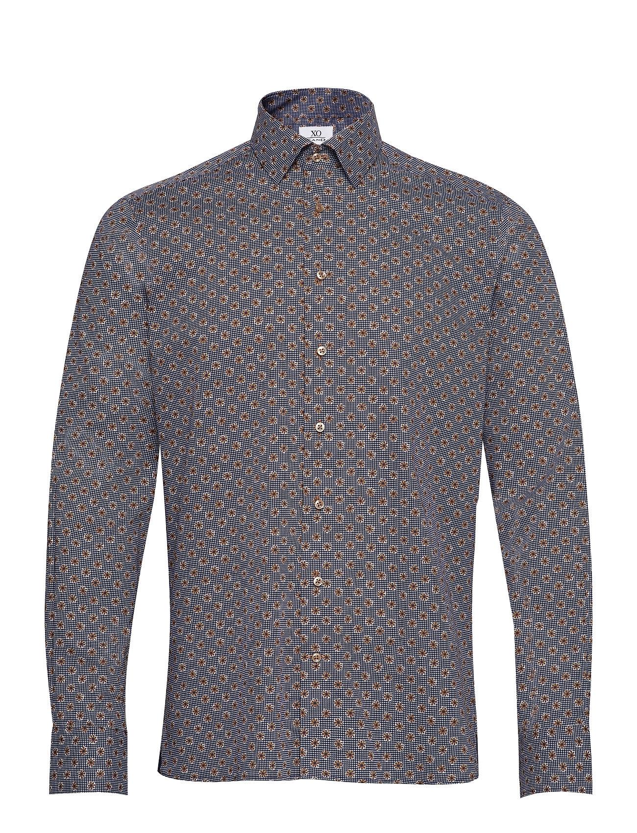 Image of 8667 - Gordon Sc Skjorte Casual Grå XO Shirtmaker By Sand Copenhagen (3441996437)