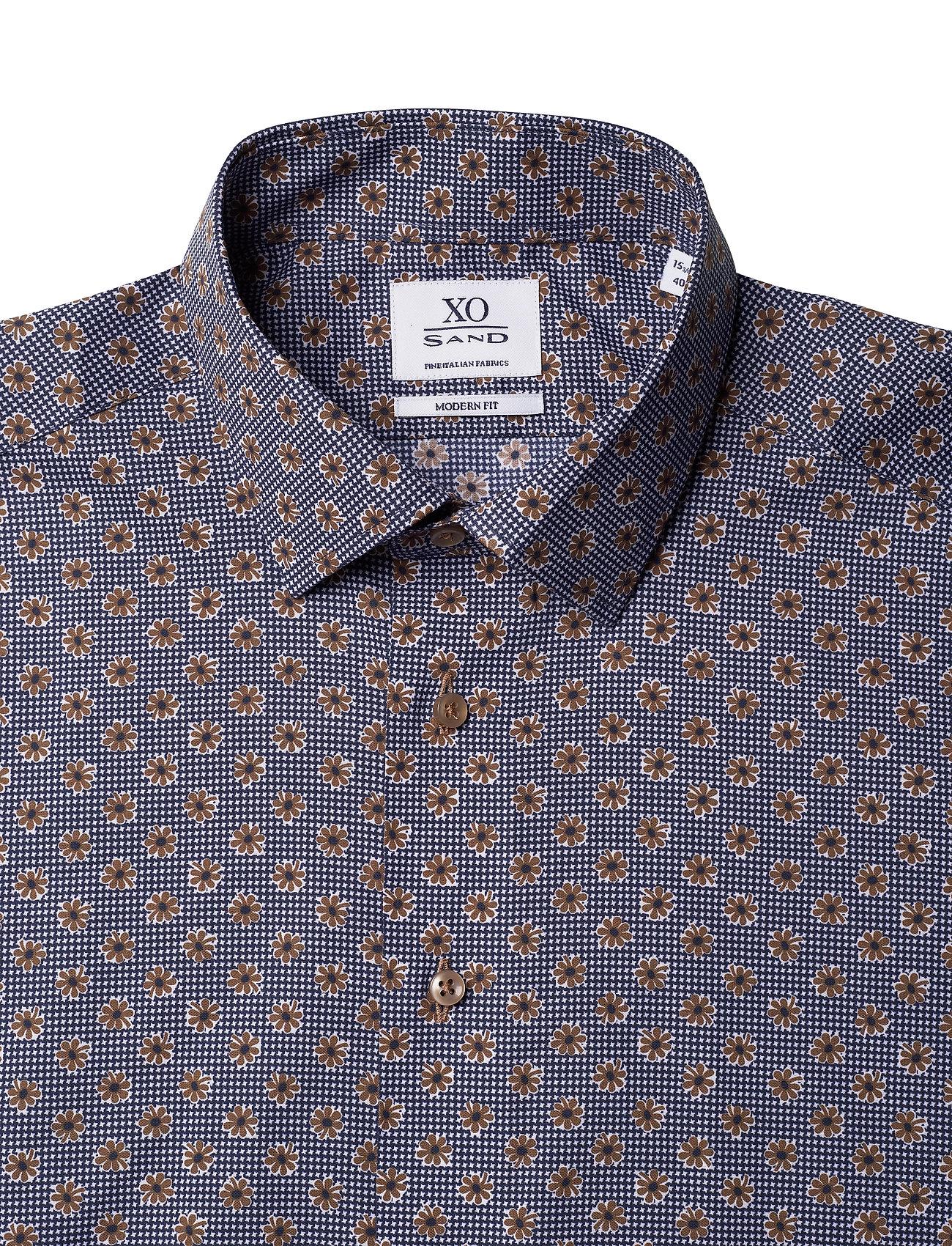 XO Shirtmaker by Sand Copenhagen 8667 - Gordon SC - Skjorter DARK CAMEL - Menn Klær