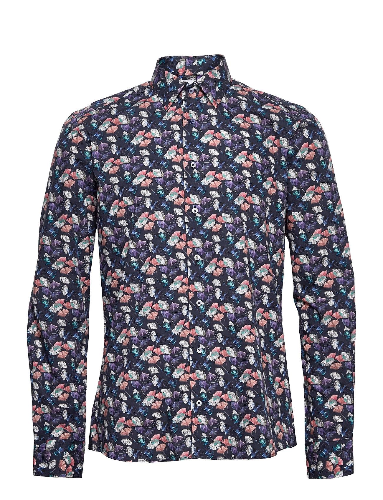 8917 - Gordon Sc Skjorte Casual Blå XO Shirtmaker By Sand Copenhagen
