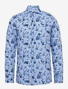 8583 - Jacky FC - hørskjorter - light blue