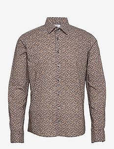 8618 - Jacky SC - casual skjortor - dark yellow