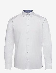 8081 Details - Gordon SC - business skjortor - optical white