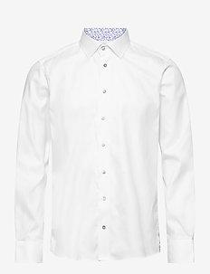 8081 - Gordon SC - basic-hemden - optical white