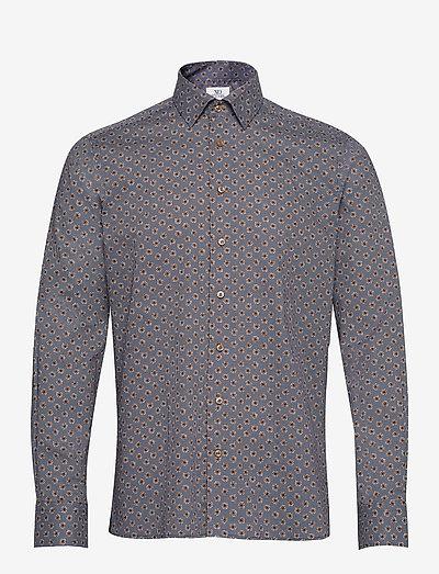 8667 - Gordon SC - business skjorter - dark camel