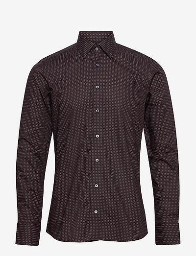 8909 - Gordon SC - business skjorter - dark red