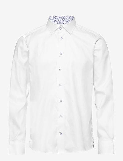 8081 - Gordon SC - basic skjorter - optical white
