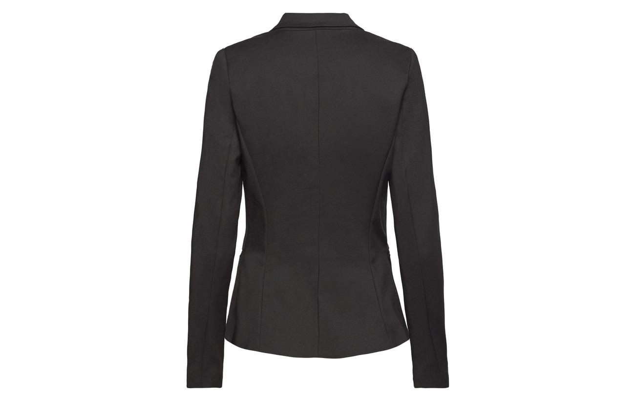 Nylon Elastane Yas 5 Yaspeyton 50 Blazer Black Coton 45 xOHAqCO6