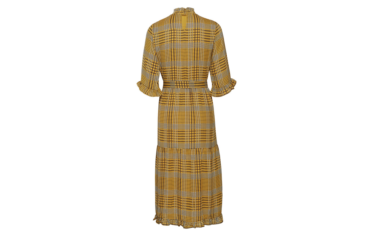 Yellow Golden Yas Ss Yasamalie Polyester 100 Dress Ixg0w