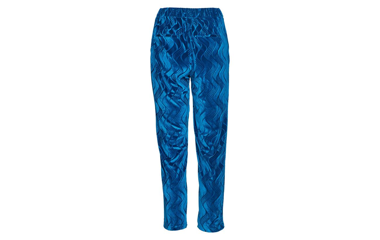 Polyester Yascirira 8 92 Blue Pant Yas Mykonos Elastane Hw 17Rqa66wY