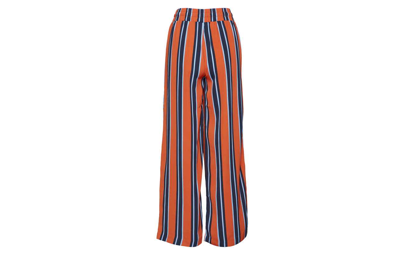 Stick Wide Pant 100 Yasstrilla Yas Cinnamon Polyester 6I8qvnwg