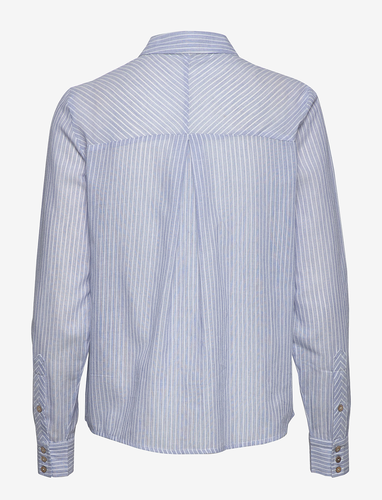 YAS - YASCLOUD LS SHIRT - ICONS S. - long-sleeved shirts - dark denim