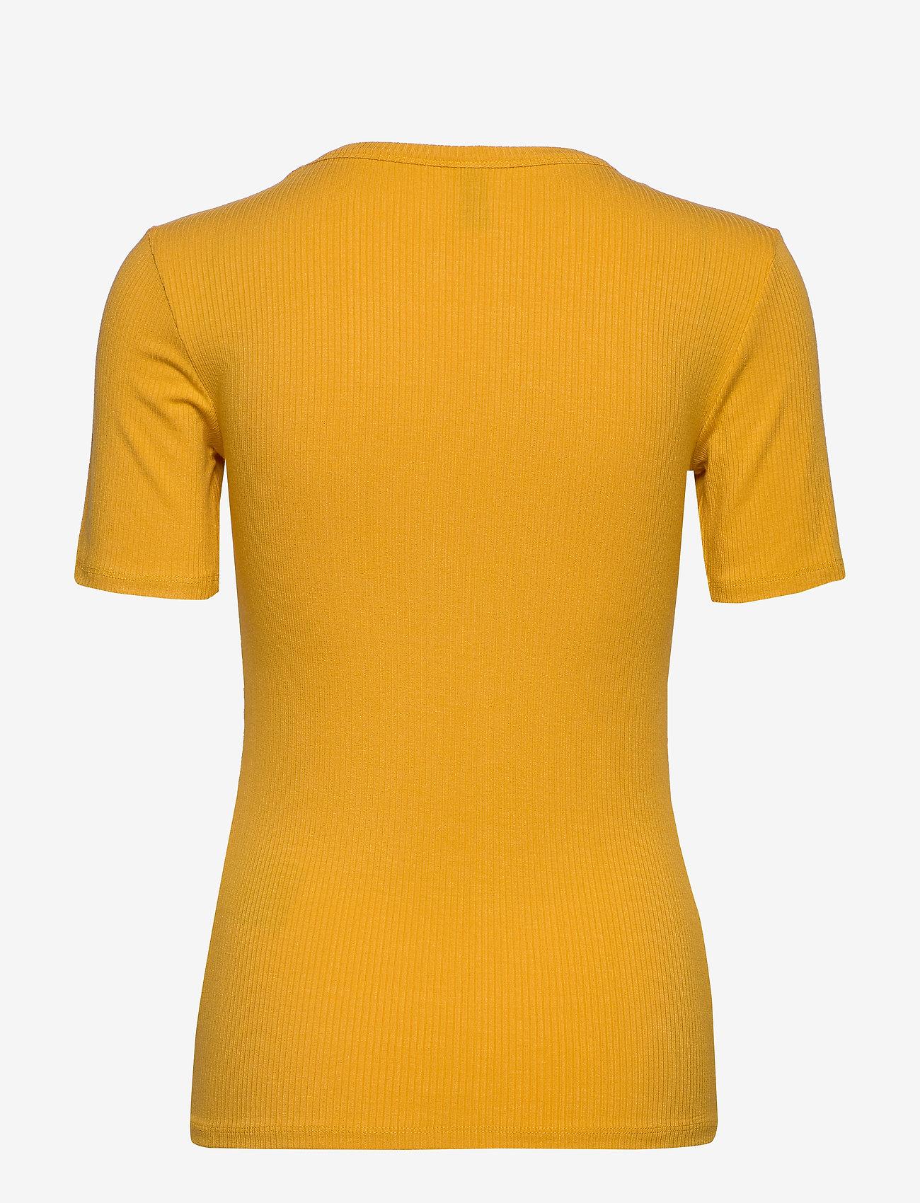 YAS - YASBLAX SS TOP - ICONS - t-shirts - golden rod