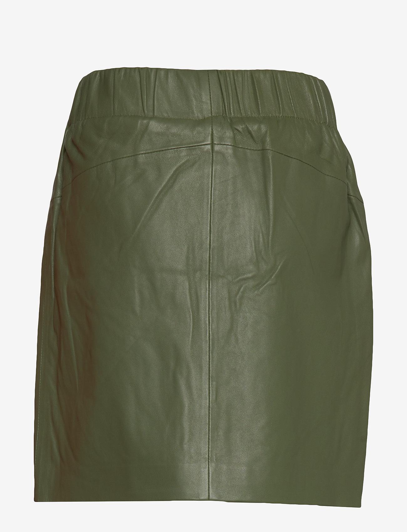 Yas Yasrobin Hw Leather Skirt - Icons Jupes