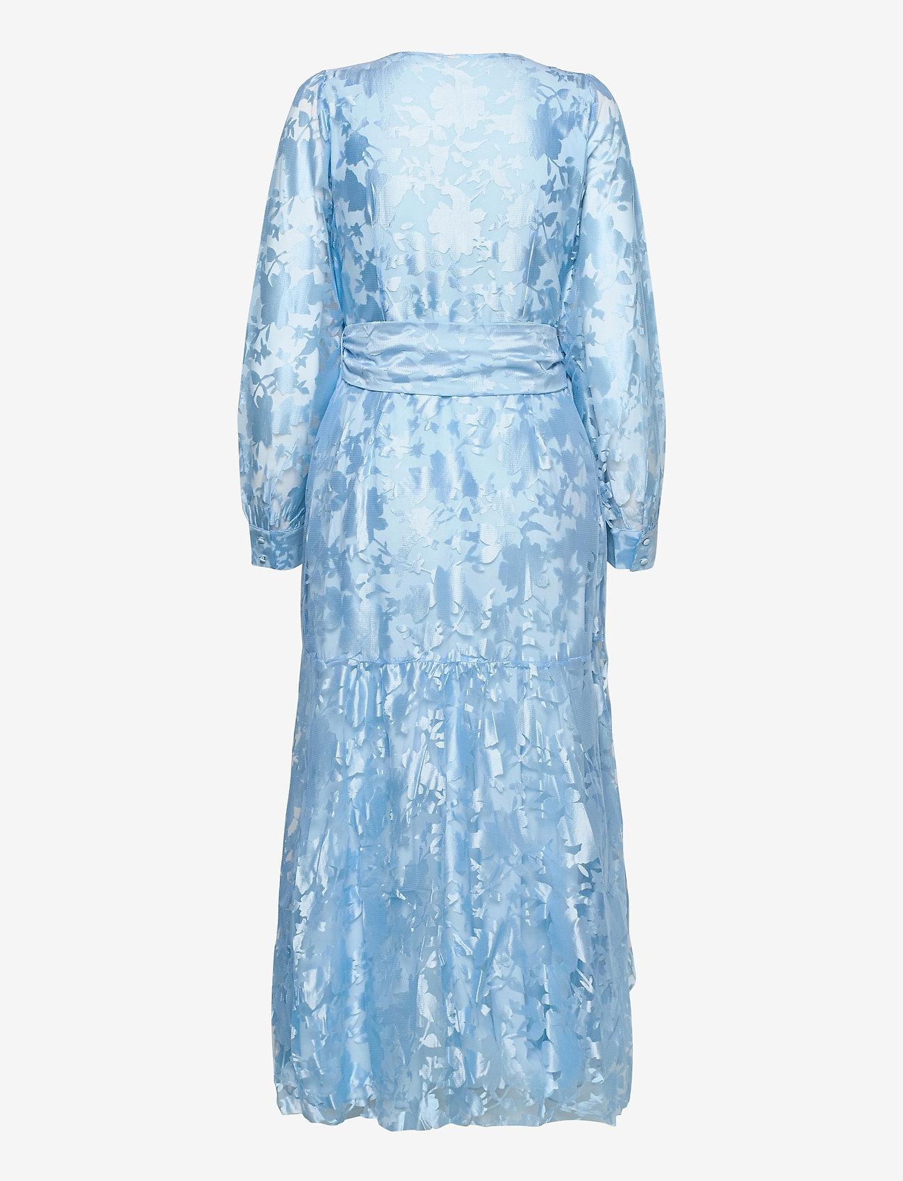YAS - YASWENDY LS ANKLE DRESS - SHOW - kveldskjoler - dusty blue - 1