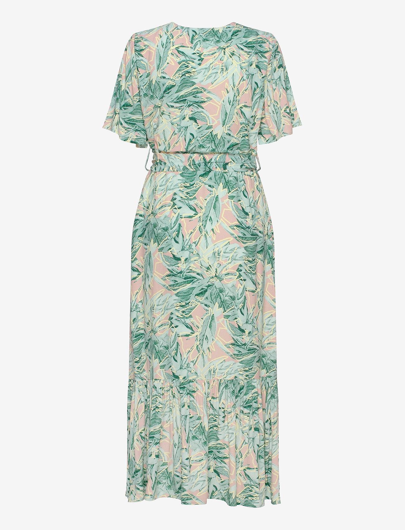 YAS - YASNALA SS LONG DRESS - SHOW S. - wrap dresses - cradle pink