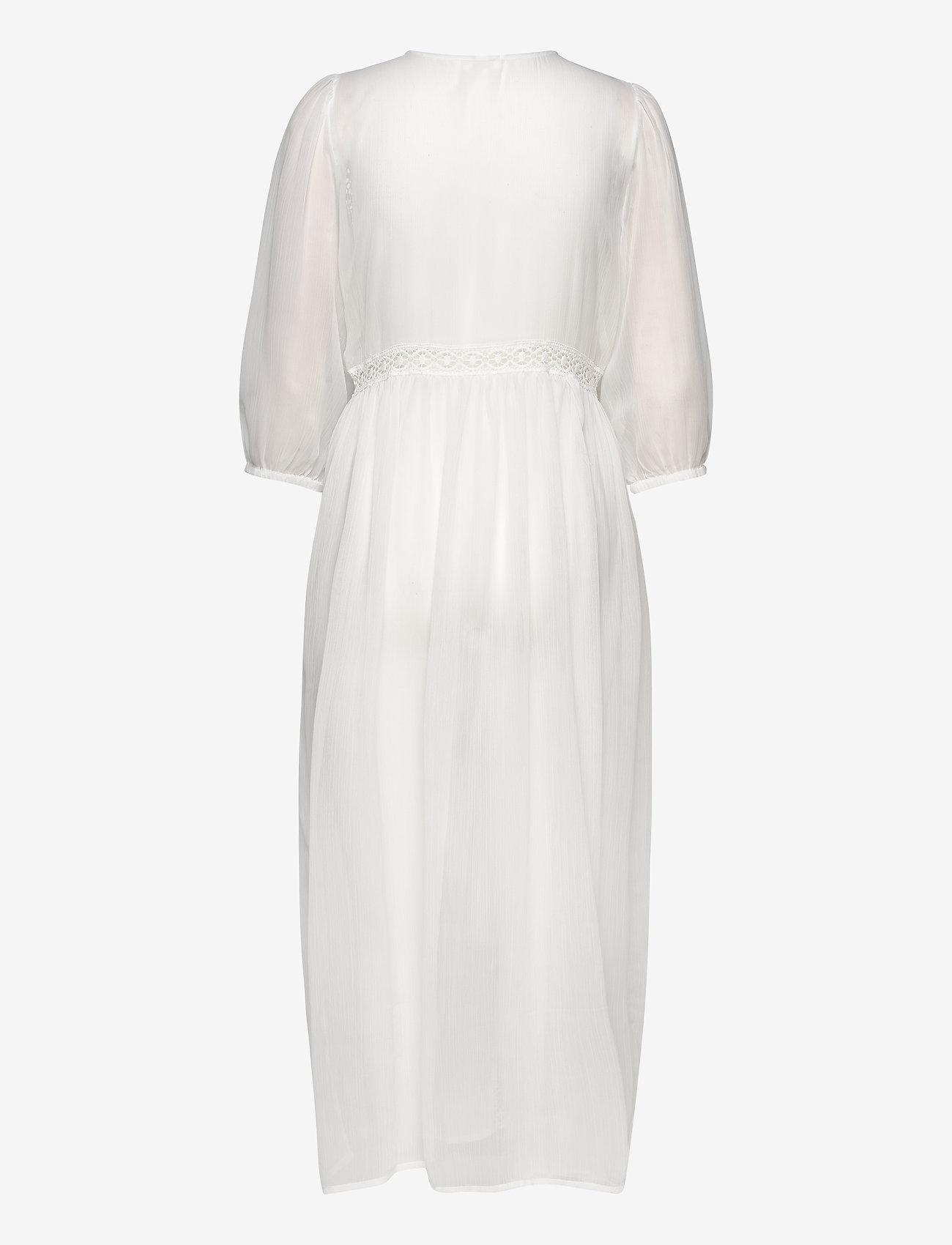 YAS - YASDAGMAR 3/4 THROW OVER - FEST S. - maxi dresses - star white