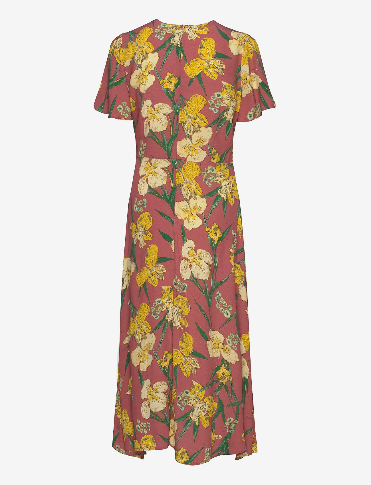 YAS YASTROPICANA SS MIDI DRESS FT S. - Dresses CAMEO PINK