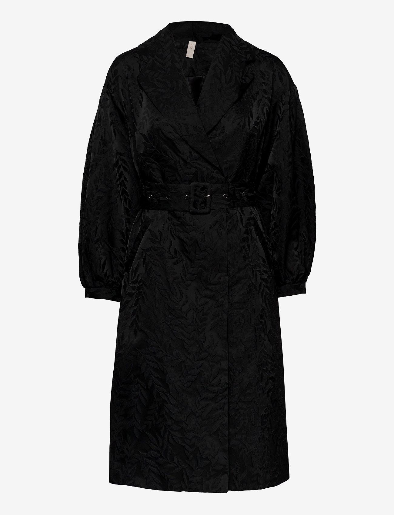 YAS - YASRESNICK COAT - SHOW - dunne jassen - black - 0