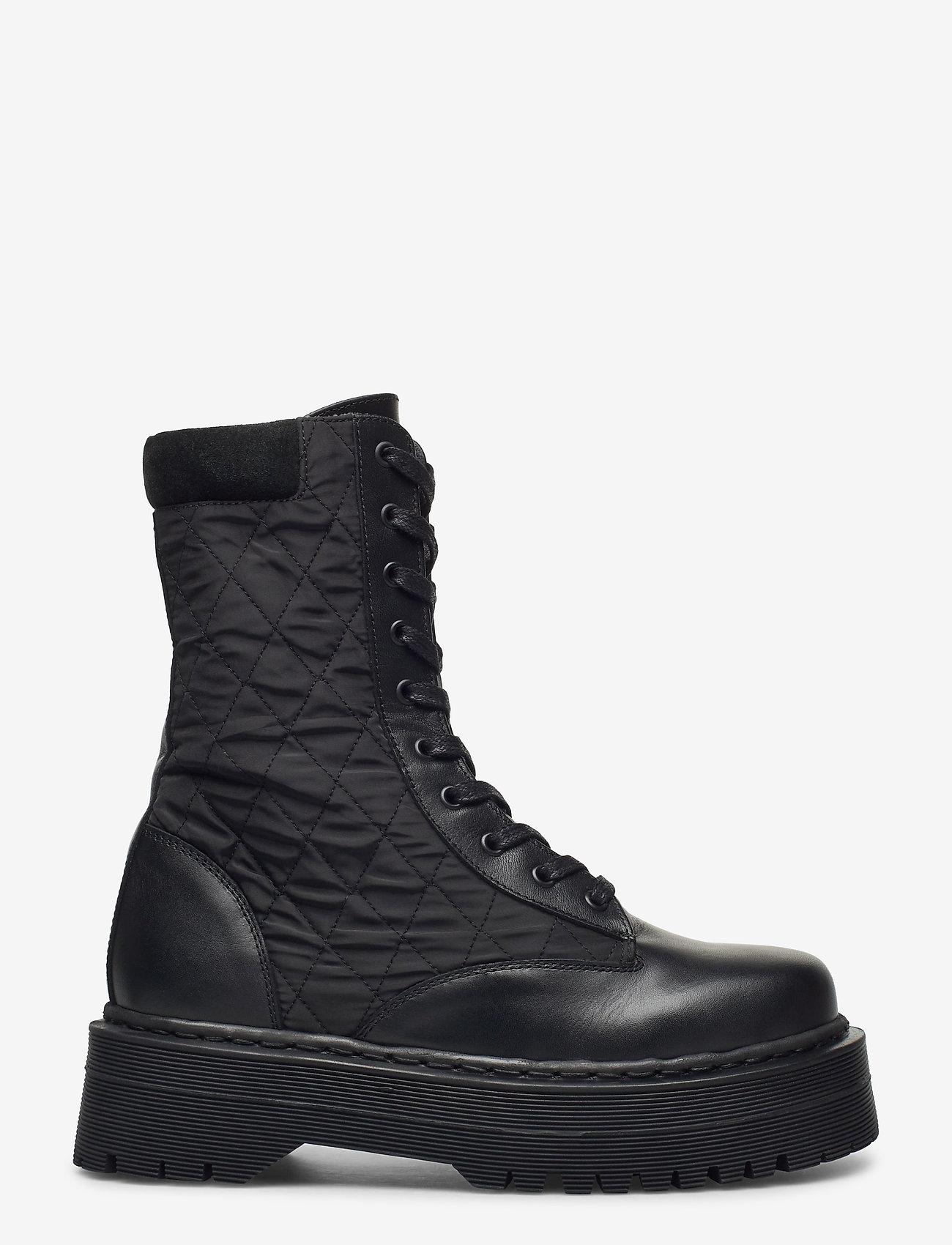 YAS - YASMONTRO BOOTS - platta ankelboots - black - 0
