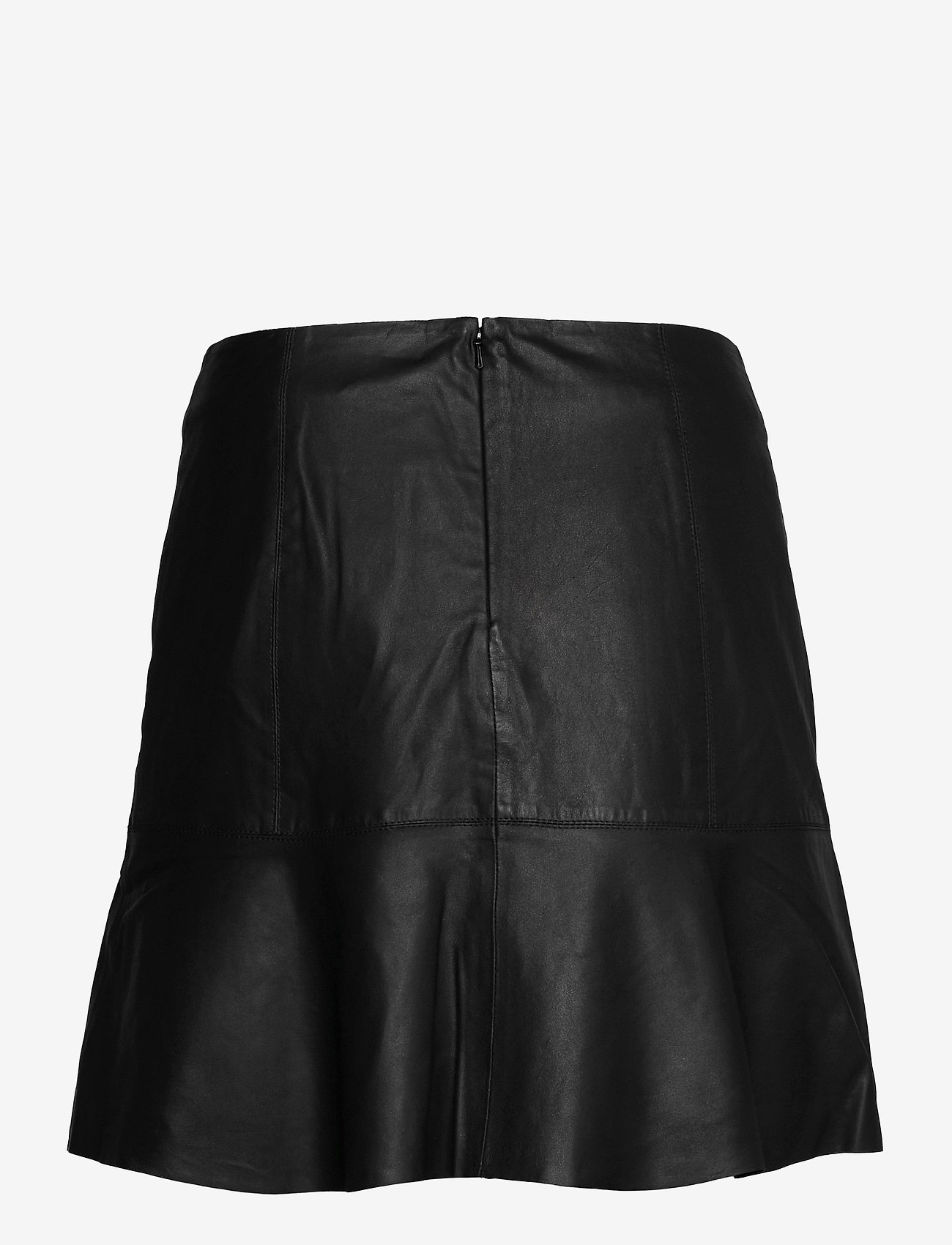 YAS - YASCOLLY MW NAPLON SKIRT - - korta kjolar - black - 1