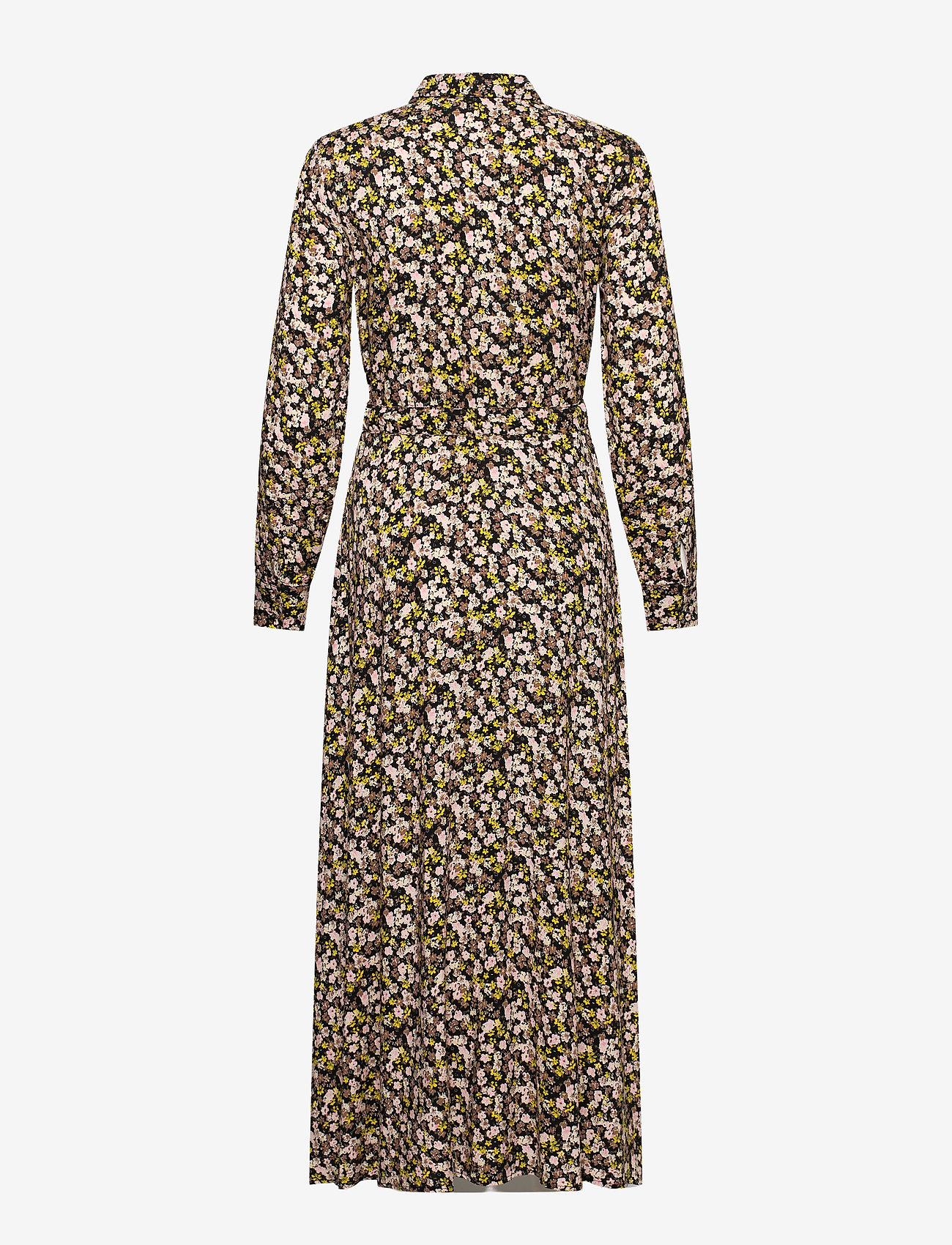 YAS - YASNULA LS LONG DRESS S. - alledaagse jurken - black - 1
