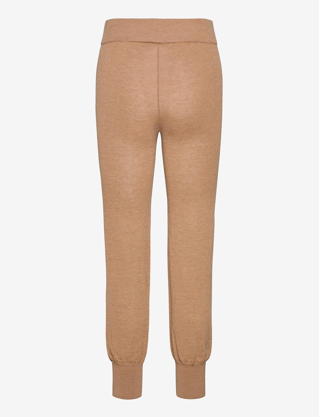 YAS - YASRONJA KNIT PANT- LW - sweatpants - tawny brown - 1