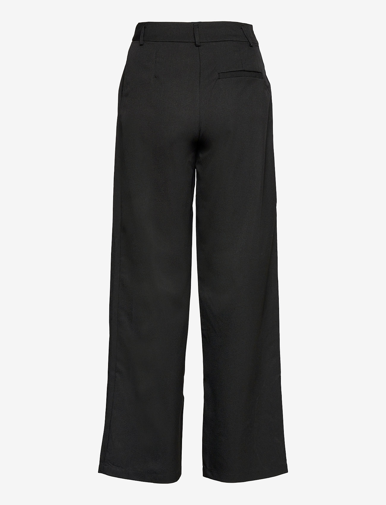 YAS - YASSERENA HW WIDE PANTS - CA - bukser med brede ben - black - 1